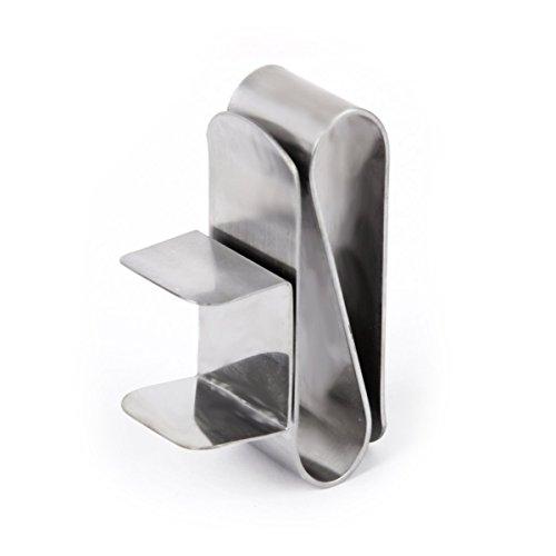 VORCOOL Kreidehalter Magnetik Billardkreide Halter (Silber)