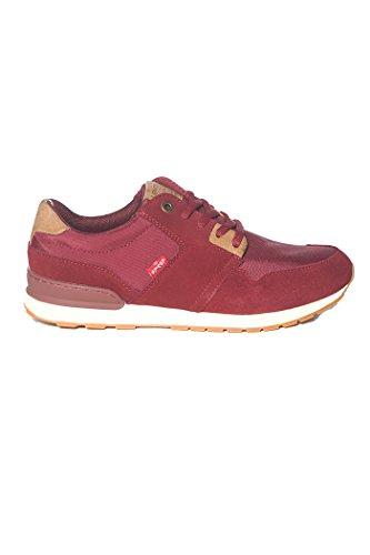 Levis, Sneaker uomo Rosso