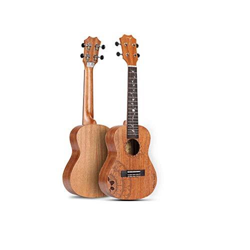 WUYANJUN La Serie di Girasole Ukulele, impiallacciatura di Mogano da 23 Pollici, Piccolo Strumento Hawaiano per Chitarra, è Il Regalo Perfetto per Gli Amanti della Musica,