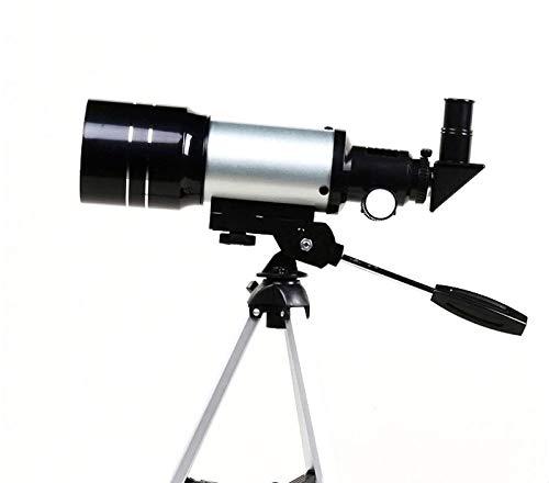Mhwlai Professionelles astronomisches Teleskop für Kinder F30070M Einrohrstativ, Kinder- und Jugendteleskop, Kinder und Jugendliche