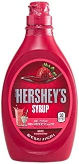 Hershey's Strawberry Syrup, 623 g - Pack