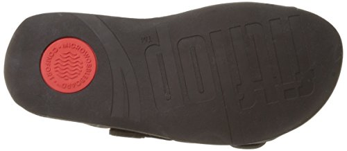 FitFlop Gogh Moc Slide Adjustable, Sandales  Bout ouvert homme Brown (Chocolate Brown)