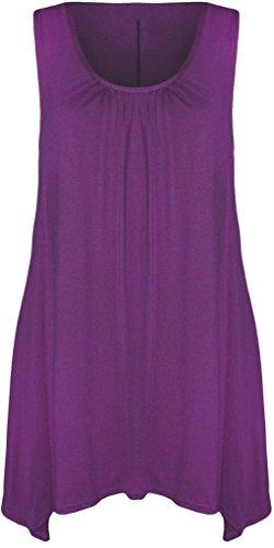 BEAULOOK - Canotta -  donna Purple