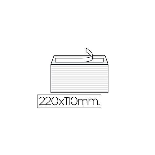 Über LIDERPAPEL Classic weiß 120gr Streifen Silikon 110x 220mm Box mit 250Stück (Box-datei Classic)