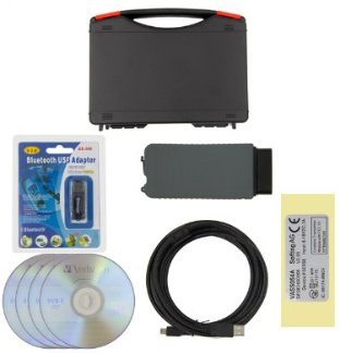 Preisvergleich Produktbild Vas 5054 A Odys neuesten v3.03 Diagnostic Tool Scanner Kit Set OBD2 Bluetooth für VW AUDI SKODA SEAT Fahrzeuge
