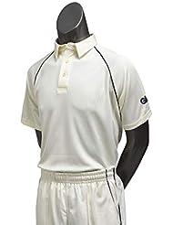 GM Boys 'Premier Club Camisa Camiseta, Niños, Color Crema, tamaño XS