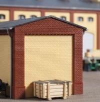 Auhagen 80412Gables y Corto Esquina pilares Rojo Kit de Modelos (pequeño)