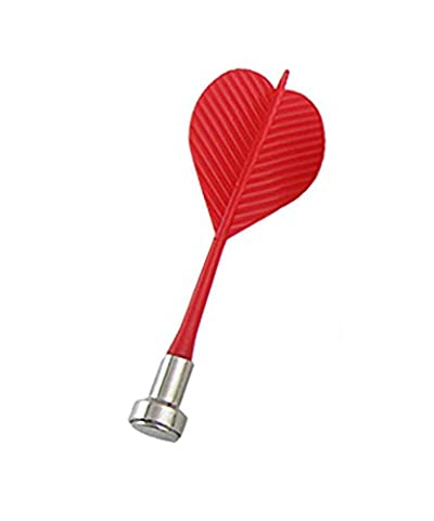 niceeshop(TM) Bullseye Ziel Spiel Kunststoff Flügel Magnetic Darts Nadel (Rot, 3er Set) (Dart Flügel)