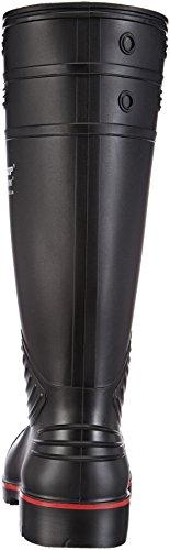 Dunlop A442031 S5 ACIF. Knie zwart#48, Stivali di Gomma, Unisex Nero (zwart)