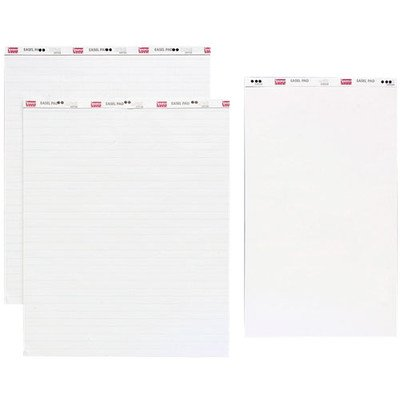 sparco-standard-easel-pad-plain-27x34-40-sheets-12-ct-white-sold-as-1-carton-spr52731