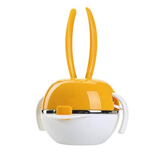 Baby tableware Kindergeschirr Babygeschirr Nahrungsergänzungsmittel Paket Kasserolle Stoßfestigkeit Edelstahlschüssel Löffel für Gabeln (Geschenk) -