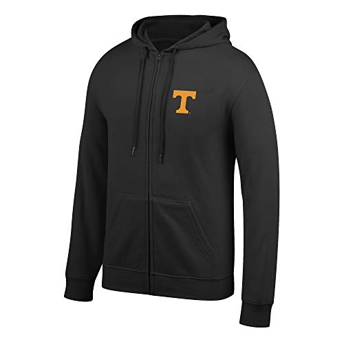eLITe Top of The World Herren Kapuzenpullover NCAA, Herren, Men's Lightweight Full Zip Hoodie, schwarz, X-Large Full Zip Screen-print Sweatshirt