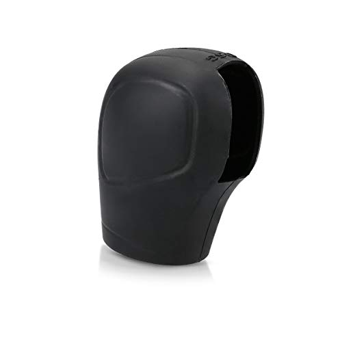 kwmobile Hülle - Silikon Gang Schaltknüppel Cover Schutzhülle in Schwarz