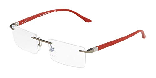 Starck eyes occhiali da vista 0sh2024 ruthenium red 56/20/145 uomo