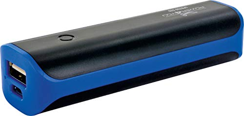 SCHWAIGER -5675- Powerbank 2200mAh, 1 USB Port, Externer Akku, Mini Powerbank, Handy Ladegerät mit LED Anzeige für iPhone, iPad, Samsung, Huawei, Android Smartphones Tablets
