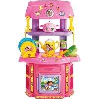 Toy Planet – Dora la exploradora mini cocina accesorios, talla pequeña