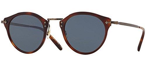 Sonnenbrillen Oliver Peoples OP-505 SUN OV 5184S DARK MAHOGANY/BLUE Herrenbrillen