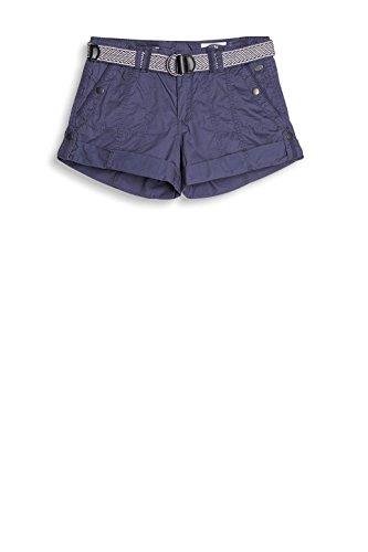 edc by ESPRIT Damen Short Blau (Grey Blue 420)