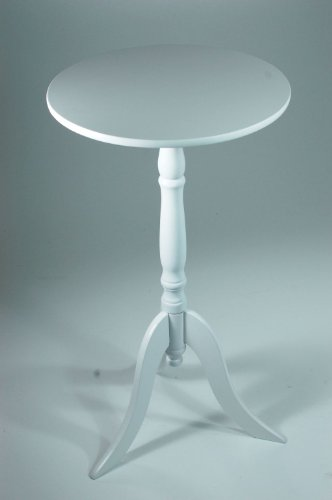 Table d'appoint en bois-blanc