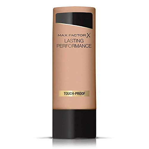 Max Factor Lasting Performance Fondotinta Liquido, Alta Coprenza, Finish Matte e Lunga Durata, 109 Natural Bronze, 35 ml