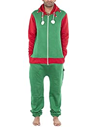 8cecf4b4729 NOROZE Mens Stylish All in One Jumpsuit Onesie