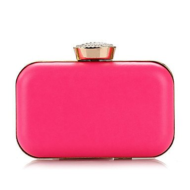 pwne L. In West Wome Von Pearl Diamonds Party/Abend Tasche Fuchsia