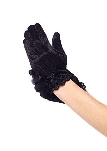 Leg Avenue- Niñas, Color negro, Large (134-140 cm de altura) (490803001)