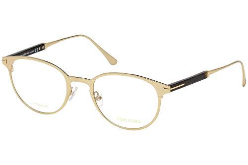Tom Ford FT5482 Brillen 50-21-145 Gold Mit Demonstrationsgläsern 028 TF5482 TF 5482 FT 5482