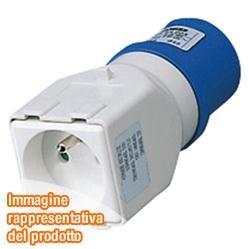 Gewiss GW64203Type E (FR) Power Plug Adapter–power plug ADAPTERS