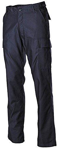 MFH Hommes Pantalon de combat US BDU - Bleu, XXXL