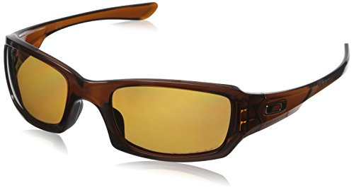 Oakley Sonnenbrille Fives Squared, OO9238, Braun (Polished Rootbeer/Bronze Polarized (S3))