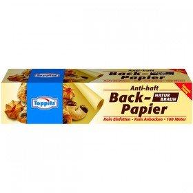 Toppits Backpapier 100 m, 1er Pack (1 x 1 Stück)