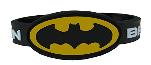 ESHOPPEE Batman wrist band with lock free size