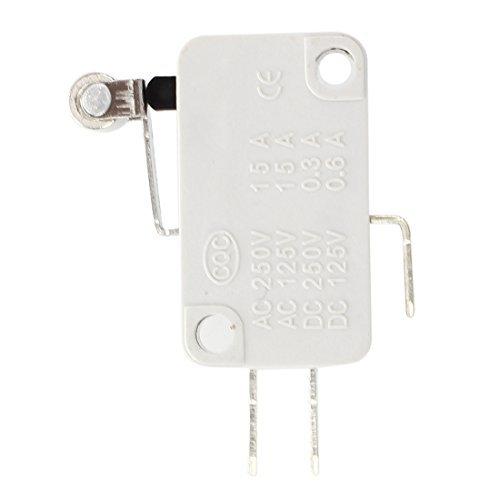 Preisvergleich Produktbild TOOGOO (R) 2 Stueck Roller Kurzer Metall Hebel Miniatur Mikroschalter