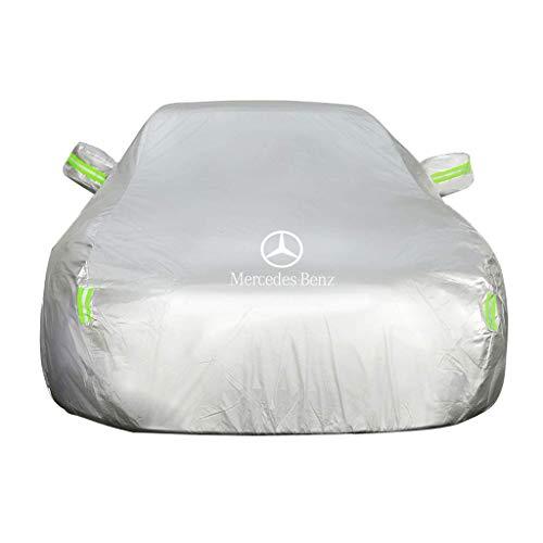GAHFG Autoabdeckung Mercedes Benz AMG C Schwere Führungskraft | 6 Unter Autogurten | Vollständig wasserdicht | Vollständig Winddicht - 111 Nacht Staub