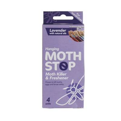Lakeland Moth Stop Moth Killer Wardrobe Hangers , Pack of