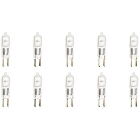12Vmonster Illumi Proiezioni Confezione Da 10Frosted GY675W 120V lampadine alogene JCD Tipo 110V 130V 75W GY6,35120Volt