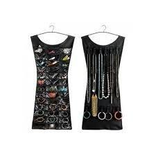 Vestido Organizador de Joyas, collares y bisuteria. joyero para armario en promoción