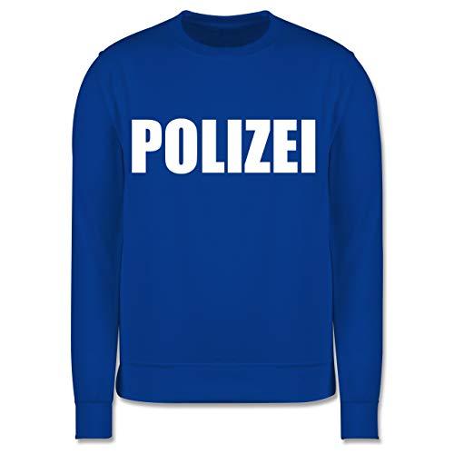 Shirtracer Karneval & Fasching Kinder - Polizei Karneval Kostüm - 5-6 Jahre (116) - Royalblau - JH030K - Kinder ()