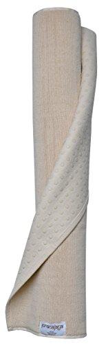Pran ajaya di cotone tappetino da yoga  -Tappetino per Pilates   antiscivolo   lavabile   (Biodegradabile Cotone)
