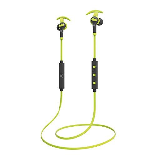 Ksix Go&Play Sport 3 - Auriculares inalámbricos deportivos, bluetooth, control música, micro