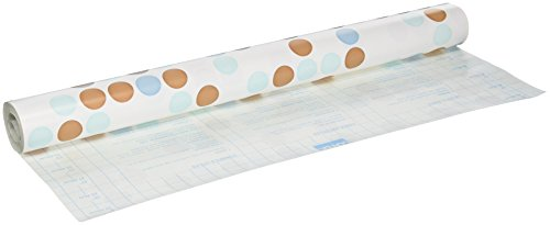 Magic Coque étiquette Shelf Liner, 45,7 cm par 24-Feet, Polka Bleu