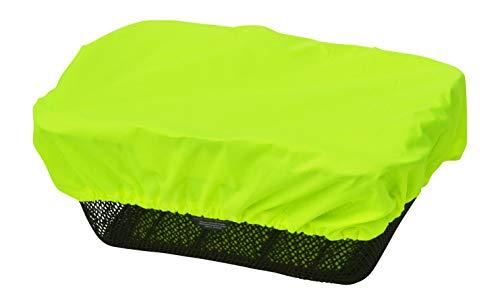 NICE \'n\' DRY Abdeckung und Regenschutz für Fahrradkorb Neongelb