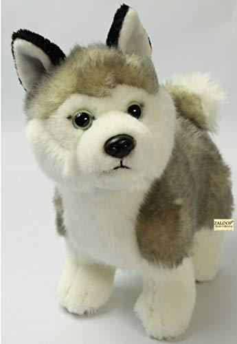 Zaloop Husky ca. 25 cm Plüschtier Kuscheltier Stofftier Plüschhusky 44
