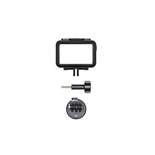 DJI Osmo Action - Kamerarahmen-Kit, Schutzhülle für Osmo Action-Kamera, Bumper für Kamera, wasserdichtes Zubehör für Aufnahmen im Wasser, LED-Anzeige, bequeme Entwässerung, Schnellspannvorrichtung