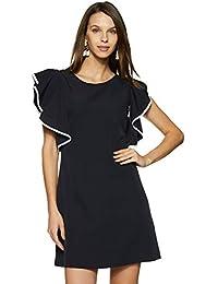 FabAlley Women's One-Shoulder Mini Dress
