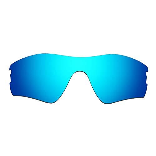 HKUCO Verstärken Ersatz-Brillengläser für Oakley Radar Pitch Sonnenbrille Blau Polarisiert