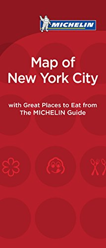 Michelin 2015 New York City: Map of Great Places to Eat