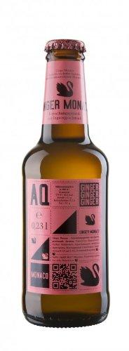 Aqua Monaco Ginger Ale 0,23 Liter