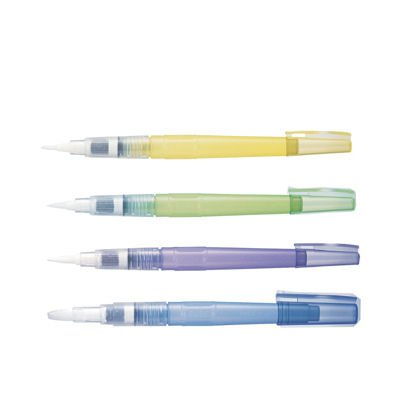 ZIG Water Colour System BrusH20 - Set of Four Water Brush Pens by Kuretake